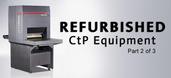 Refurbished CtP Equipment Banner
